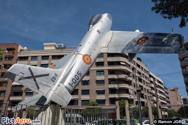 North American F-86F Sabre (Spain - Air Force)