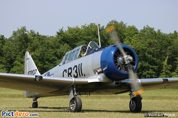 North American T-6G Texan (Lucquet Christian)