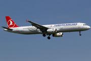 Airbus A321-231 (TC-JML)