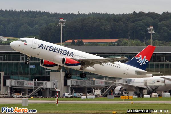 Airbus A320-232 (Air Serbia)