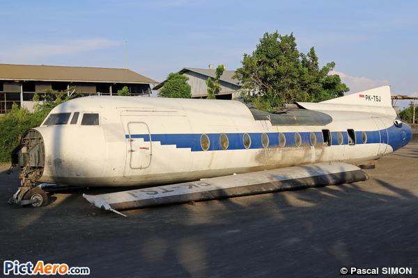 Fokker F-27-500F Friendship  (Indonesia Air Transport (IAT))