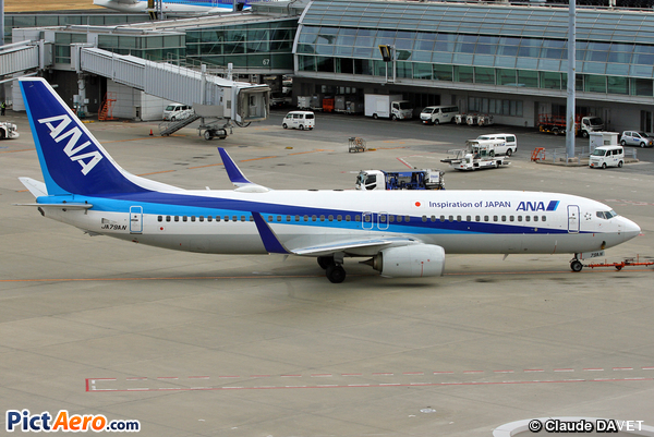 Boeing 737-881/WL (All Nippon Airways)