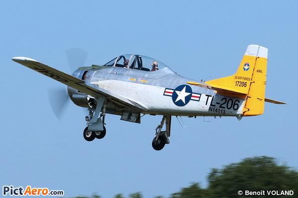 North American AT-28D Trojan  (TJ AIR HOLDINGS INC TRUSTEE)