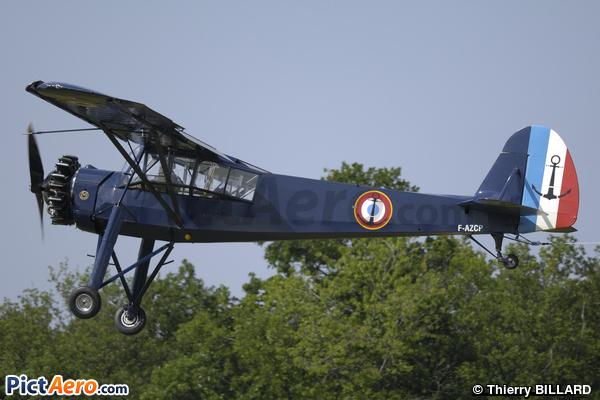 Morane-Saulnier MS-502 Criquet  (Salis Jean)