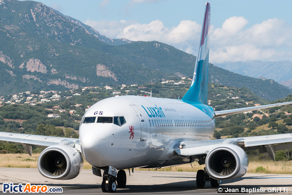 Boeing 737-7C9/WL (Luxair - Luxembourg Airlines)