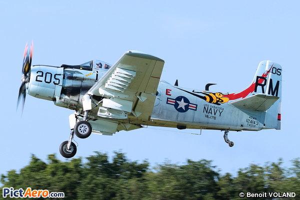 Douglas AD-4N Skyraider (Amicale Jean Baptiste Salis)