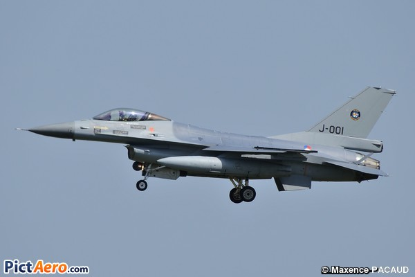 Fokker F-16A Fighting Falcon  (Netherlands - Royal Air Force)