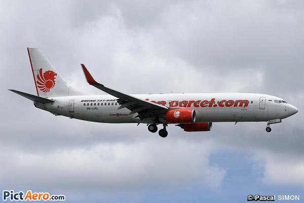 Boeing 737-8GP/WL (Lion Air)