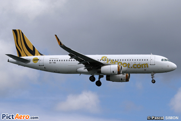 Airbus A320-232/WL (Scoot Airways)