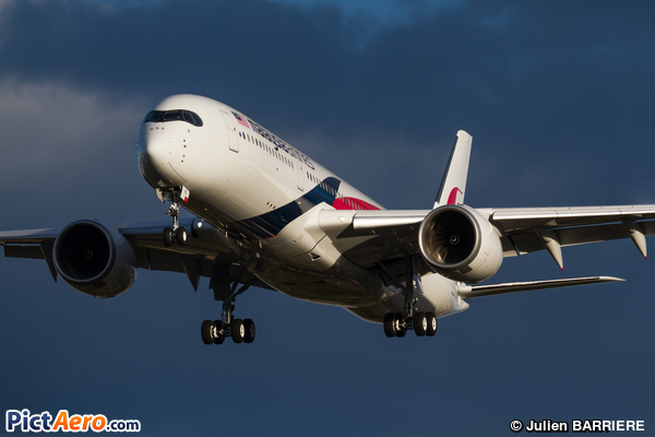 Airbus A350-941 (Malaysia Airlines)