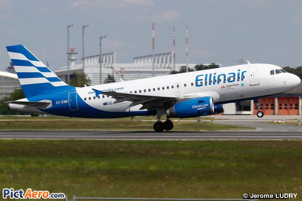 Airbus A319-133 (Elinair)