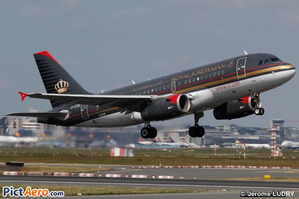 Airbus A319-132 (Royal Jordanian)