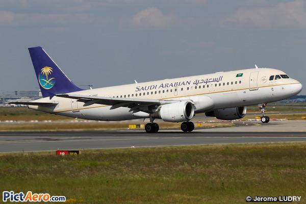 Airbus A320-214 (Saudi Arabian Airlines)