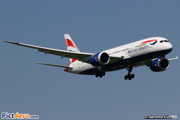 Boeing 787-8 Dreamliner (British Airways)