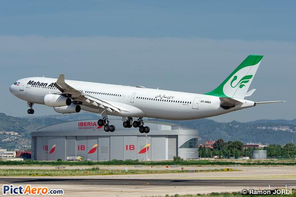 Airbus A340-311 (Mahan Air)