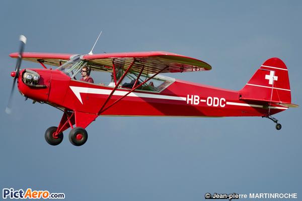 Piper J-3C-65 Cub (Groupement des Avions Historiques)