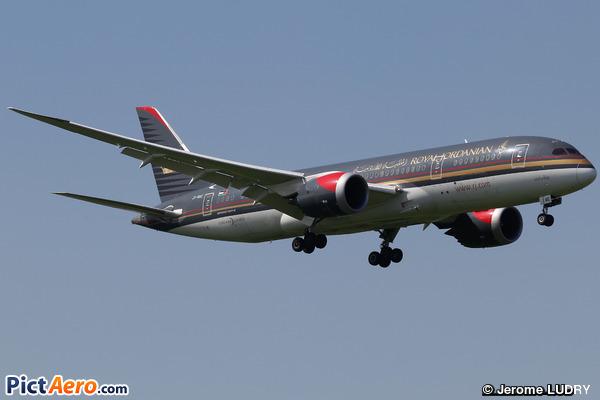 Boeing 787-8 (Royal Jordanian)