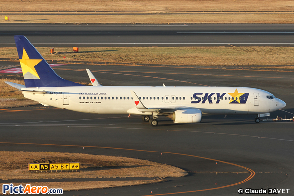 Boeing 737-8FH/WL (Skymark Airlines)