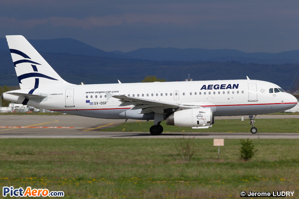 Airbus A319-132 (Aegean Airlines)