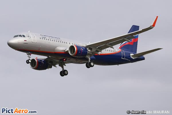 Airbus A320-216 (Aeroflot)