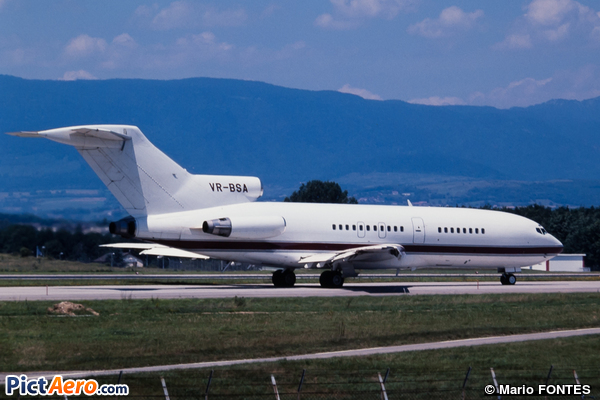 Boeing 727-023 (Theberton)