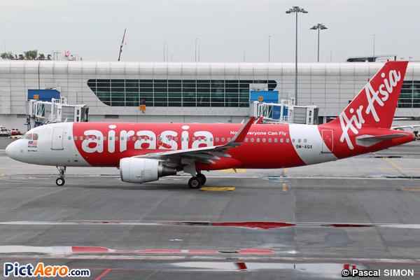 Airbus A320-216/WL (Air Asia)