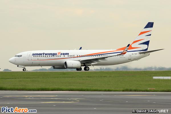Boeing 737-8GJ/WL (Smart Wings)