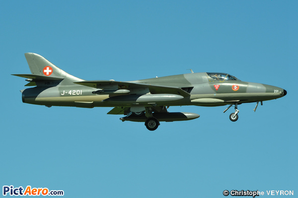 Hawker Hunter T68 (Switzerland - Air Force)