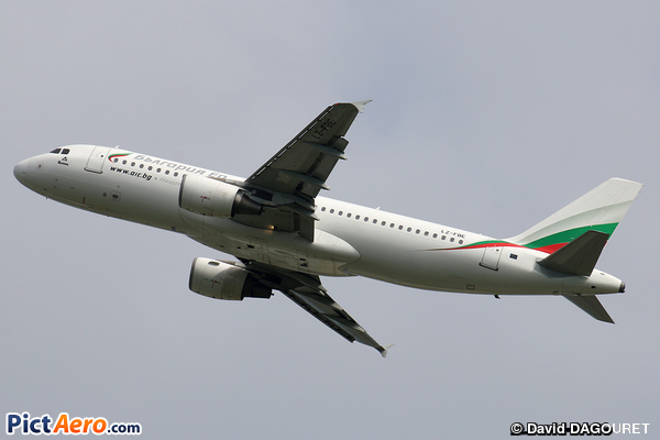 Airbus A320-214 (Bulgaria Air)
