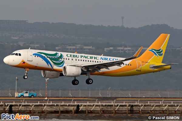 Airbus A320-214/WL (Cebu Pacific Air)