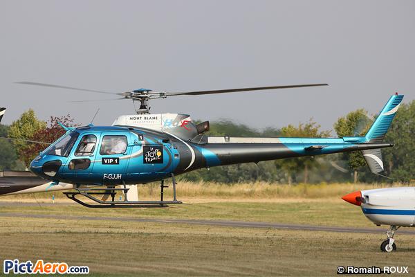 Aérospatiale AS-350B2 Ecureuil (Mont Blanc Hélicoptères)