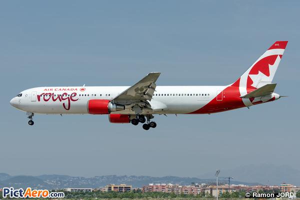 Boeing 767-38E/ER (Air Canada Rouge)