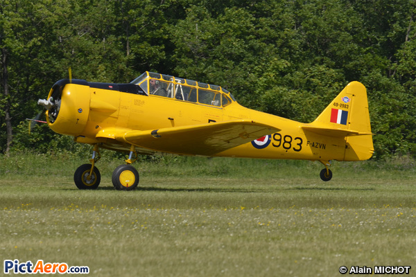 North American T-6G (Delorme Jacques)