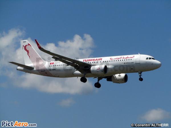 Airbus A320-214/WL  (Tunisair)