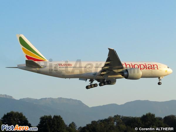 Boeing 777-260/LR (Ethiopian Airlines)