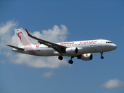 Airbus A320-214/WL  (TS-IMW)