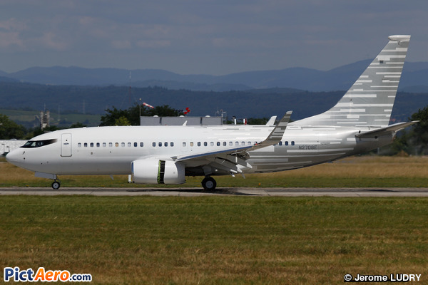 Boeing 737-7LT/BBJ (Bank of Utah Trustee)