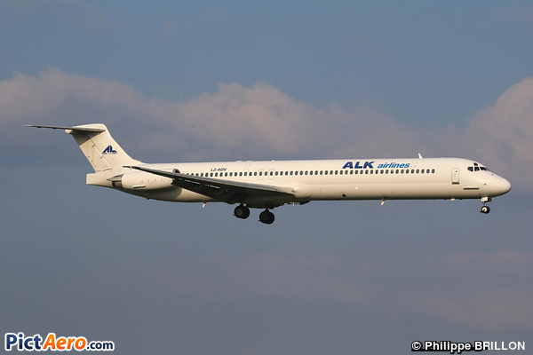 McDonnell Douglas MD-82 (DC-9-82) (ALK AIRLINES)