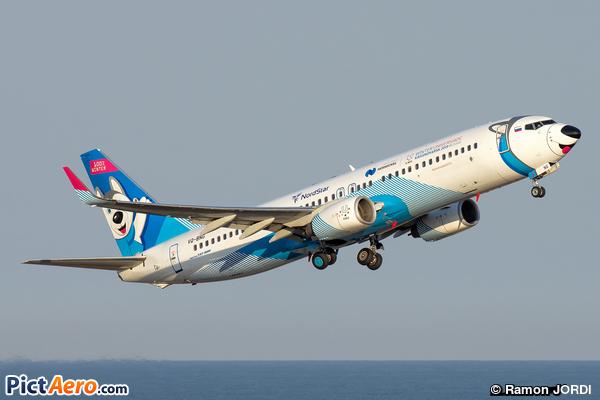 Boeing 737-86J/WL (NordStar)