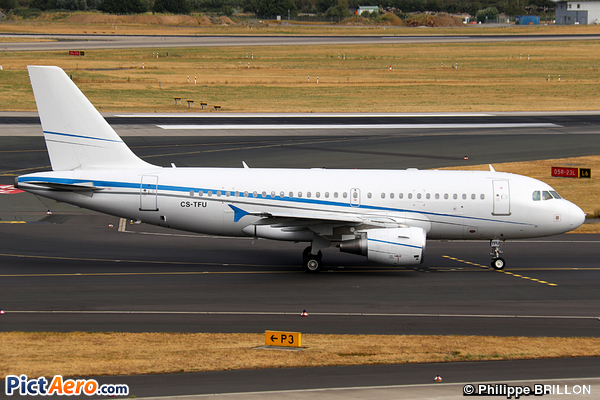 Airbus A319-115/LR (White Airways)