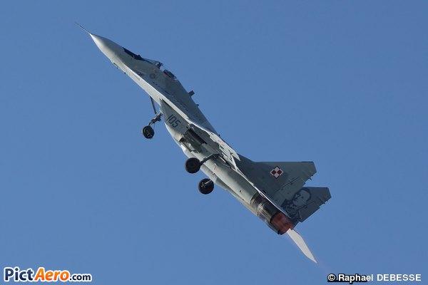 Mikoyan-Gurevich MiG-29A (Poland - Air Force)