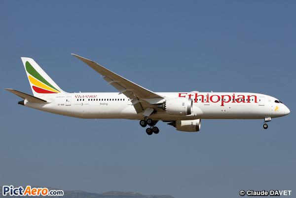 Boeing 787-9 Dreamliner (Ethiopian Airlines)