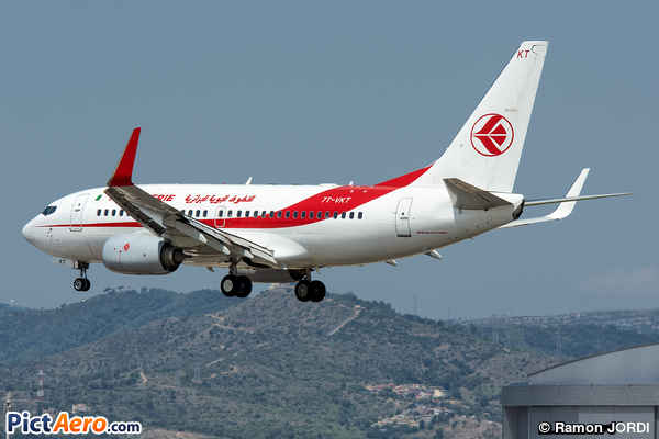 Boeing 737-7D6/WL (Air Algérie)
