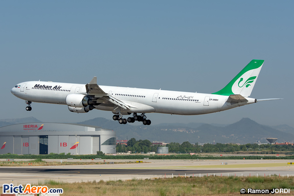 Airbus A340-642 (Mahan Air )