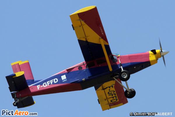 Pilatus PC-6/B2-H2 Turbo Porter ( ECOLE FRANCAISE DE PARACHUTISME NANCY LORRAINE )