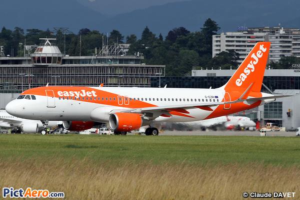 Airbus A320-214/SL (easyJet)