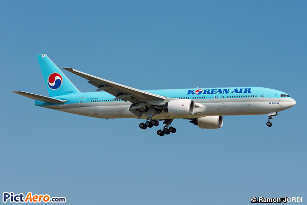 Boeing 777-2B5/ER (Korean Air)