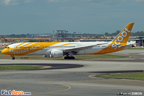Boeing 787-9 Dreamliner (Scoot Airways)