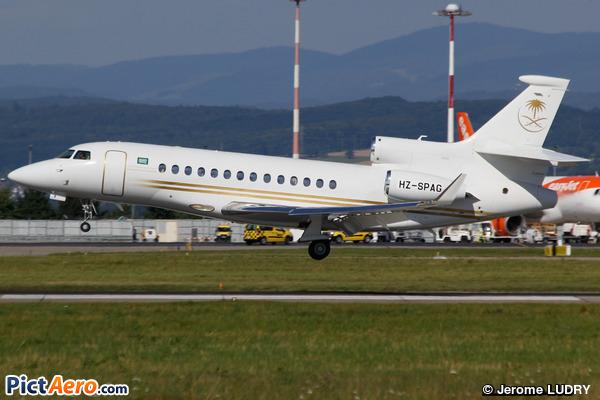 Dassault Falcon 7X (Saudia Private Aviation)