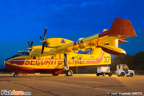 Canadair CL-415 (France - Sécurité Civile)
